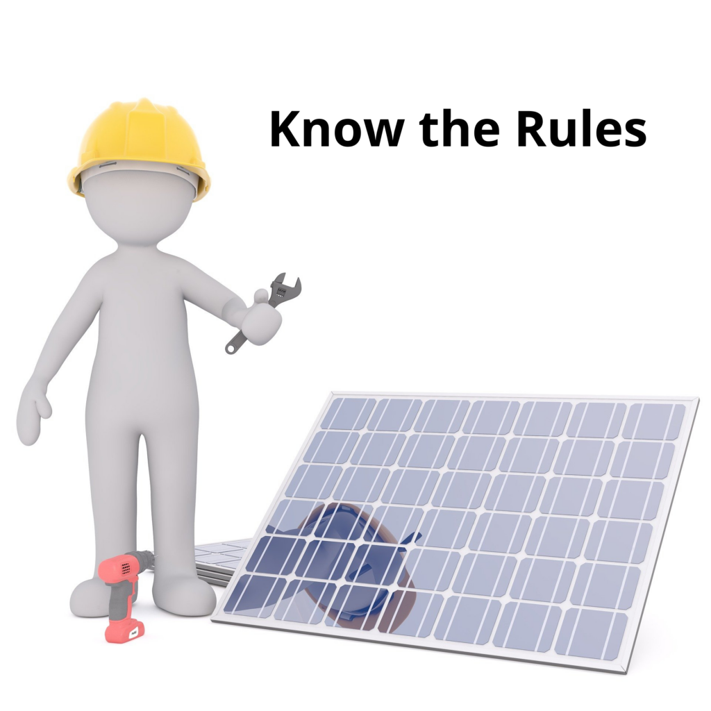 solar energy regulations